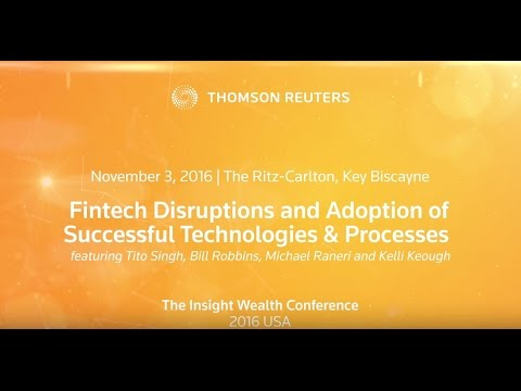 Fintech Disruptions and Adoption of Successful Technologies and Processes Panel