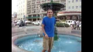 Weekly Wacky Wednesday Video in a Water Fountain