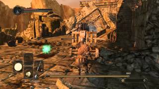 Dark Souls II PC gameplay THE PURSUER boss fight easy one