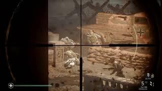 Call of Duty: WWII ┃ прохождение на харде(ветеран) ┃ стрим первый
