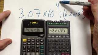 Calculators with Scientific Notation(Kids these days don't know how to use a calculator to do scientific notation. This lesson shows how to do so using several different commonly used models., 2013-02-20T20:37:10.000Z)