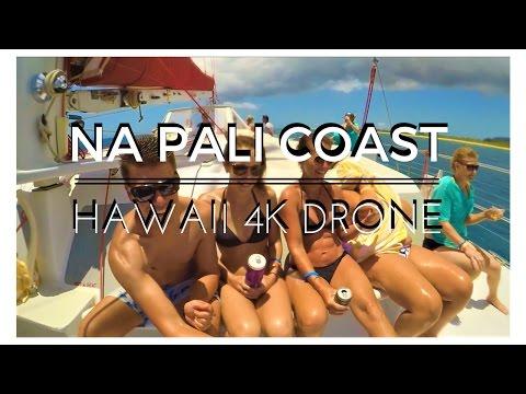 Na Pali Coast 4K Drone