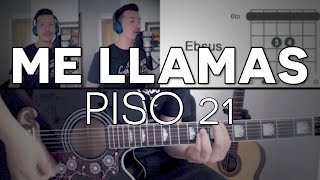 Me LLamas Piso 21 Tutorial Cover - Guitarra [Mauro Martinez]