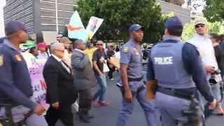 Optog teen xenofobie in Kaapstad