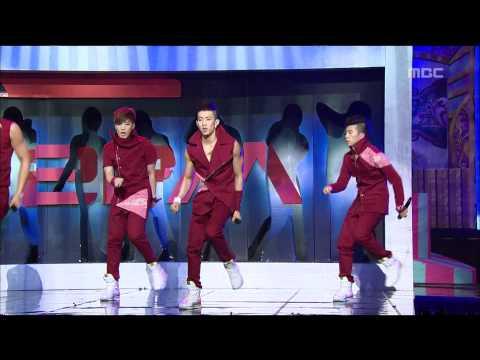 2PM  Again & Again, 투피엠  어게인 앤 어게인, Music Core 20090502