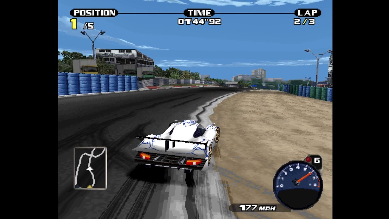 Need For Speed Porsche 2000 911 Gt1 Race