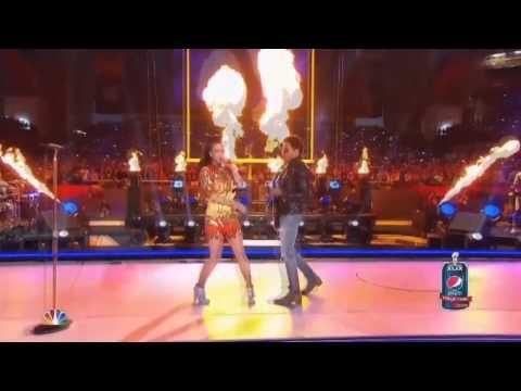 Lenny Kravitz - 'I Kissed A Girl' Halftime Show Super Bowl LXIX 2015