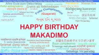 Makadimo   Languages Idiomas - Happy Birthday