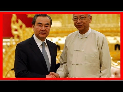 News today-top Chinese diplomat says the refugee crisis with leaders of myanmar | McClatchy washing