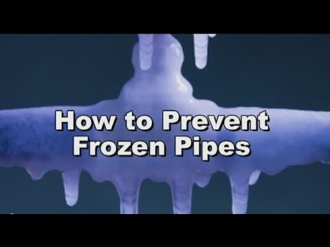 How to Prevent Frozen Pipes  RotoRooter  YouTube