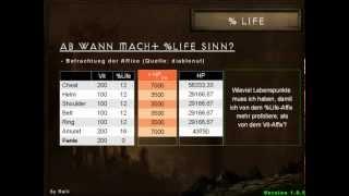 Diablo 3 - Das Modell der Effektiven Lebenspunkte (EHP) [1.0.5]