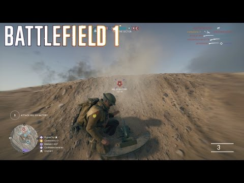 Battlefield 1 Multiplayer #14 ::Operations:: The Last Sector - No Commentary