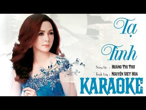 Tạ tình - Việt Hòa - (Karaoke beat chuẩn)