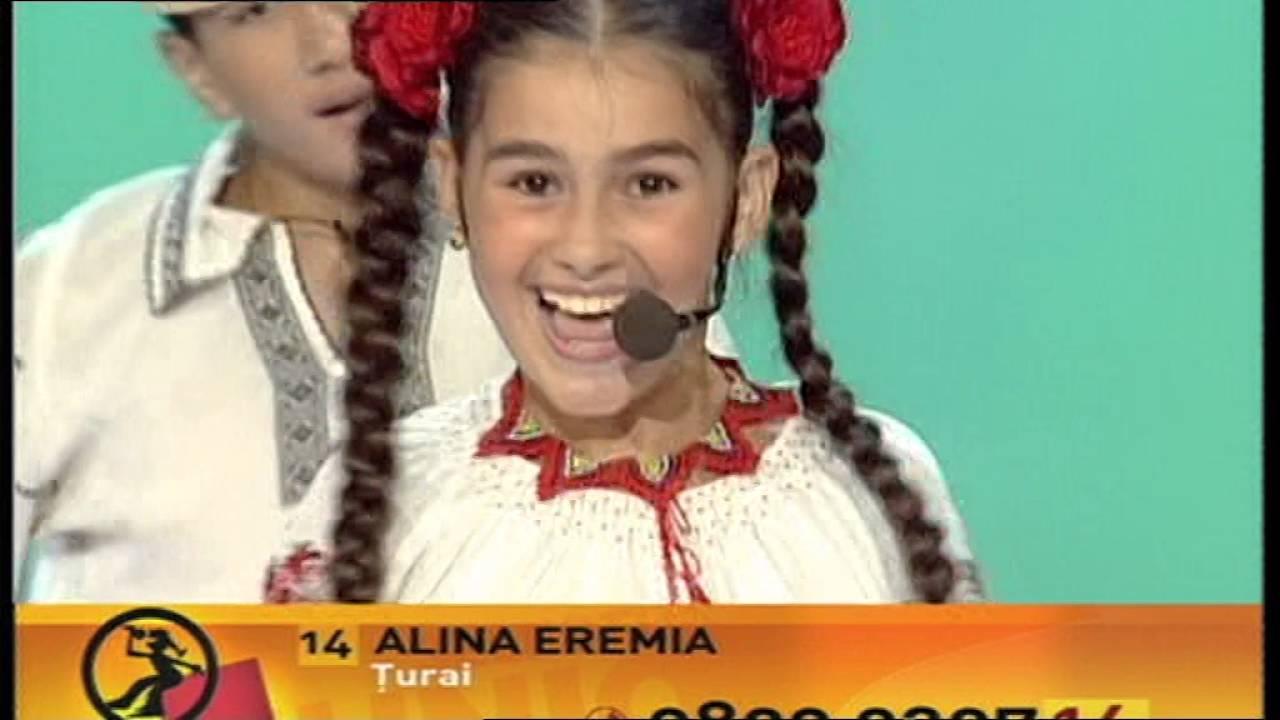 Junior Eurovision 2005: Alina Eremia - Ţurai! (Romania) [Videoclip]