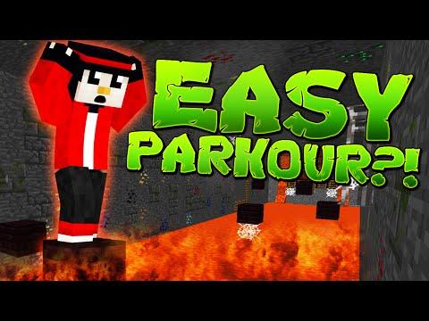 """MAX SE ENERVEAZA LA PARKOUR! - Minecraft """"EASY"""" Parkour"""