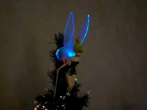 Tinkerbell Tree Topper - YouTube