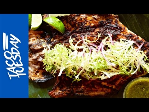 Taco Tuesday: Grilled Fish A La Talla With Red Chile Adobo