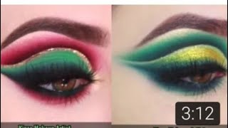 Green eyes makeup two looks create for beginners