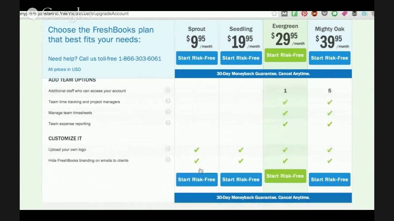 The Facts About Freshbooks Pricing Revealed