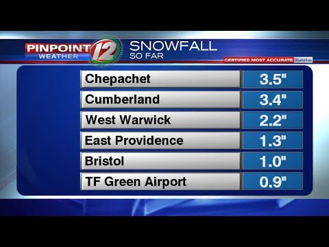 Weather Now:  Early Sunday Morning Update on Weekend Storm