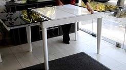 разтегателна маса AMY от мебели PLATAN