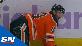 Blake Comeau Throws Dangerous Hit From Behind On Sam Gagner