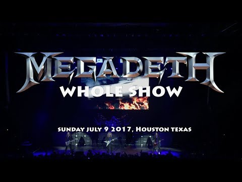 Megadeth Supercut (Whole Show 4K)