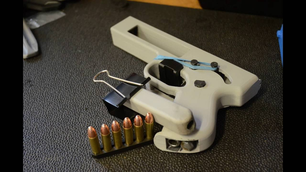 3D Printing Guns in The United States to Open The