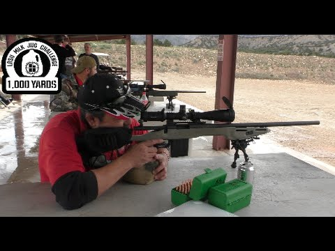 Long Range Shooting Remington 700 308 Win Vs Milk Jug At 1000 Yards Lrsu Milk Jug Challenge Sc Youtube