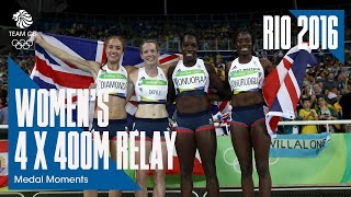 Rio Medal Moments: Women's 4x400m - Bronze | Athletics