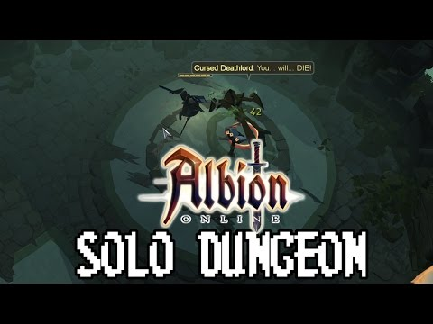 "Solo PvE ""Albion Online Expedition"" Dungeons"