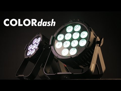 COLORdash Par H7 & 12 IP By CHAUVET Professional