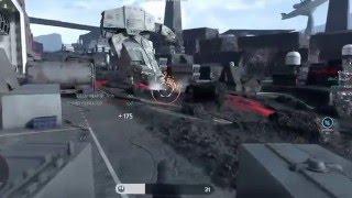 Star Wars Battlefront: AT- AT Walker Glitch