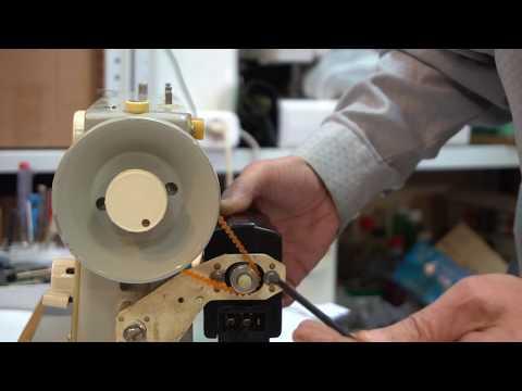 Установка привода TUR 2 на швейную машину Чайка своими руками