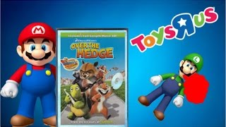 Mario and Luigi @ Toys R Us & Watch Over The Hedge
