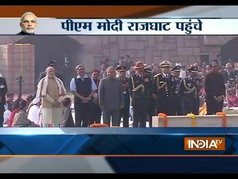 PM Modi Pays Tribute to Mahatma Gandhi on His Death Anniversary