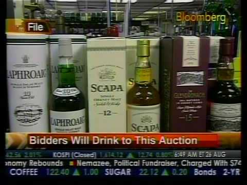 Bidders Will Drink To This Auction - Bloomberg