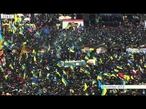 Kiev protesters, Legal but not leaving