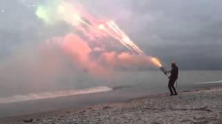 Roman Candle Minigun (1001 shots in 45 seconds)