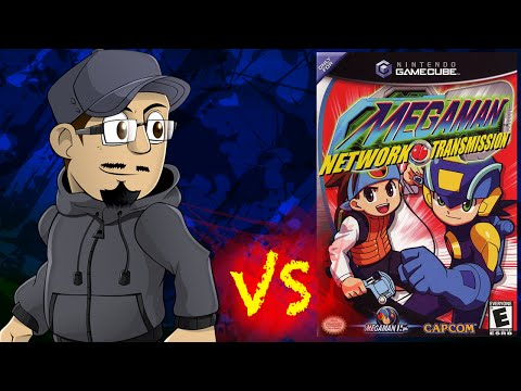 Johnny vs. Mega Man Network Transmission