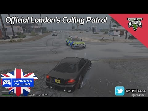 Official London's Calling Patrol #9 Vehicle Failing To Stop