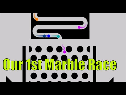 Marble Race Commentary Algodoo Marble Run | Everything Toys Autism