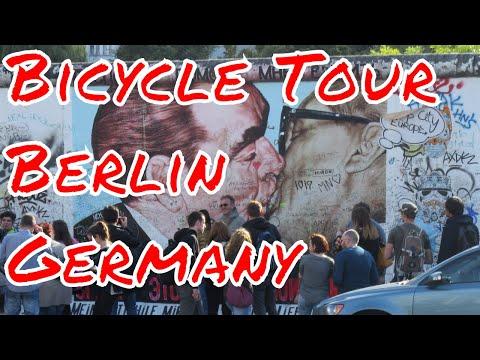 Bicycle Tour of Berlin Germany Berlin Wall Oberbaum Bridge Charlottenburg Palace Spree River Boats