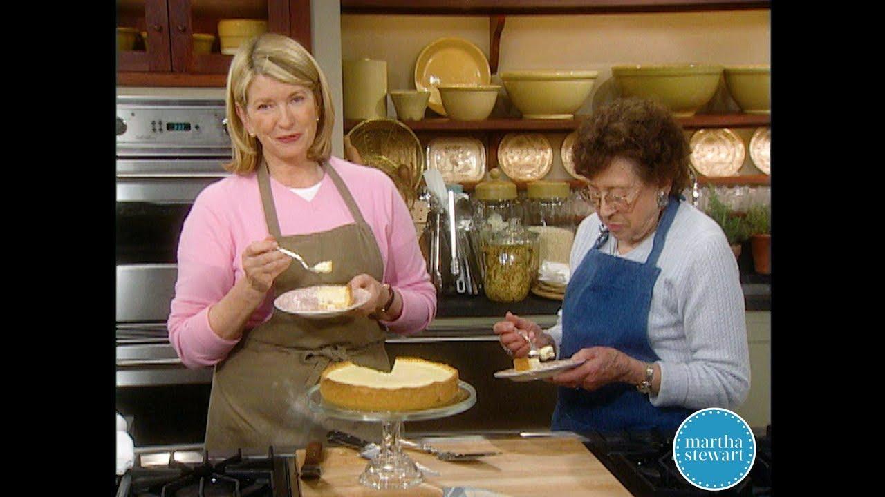 Country Cheesecake Dessert Martha Stewart