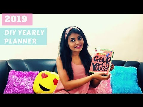 DIY Cute creative planner journal from a Diary in less than 100rs |Priyanka Mehra