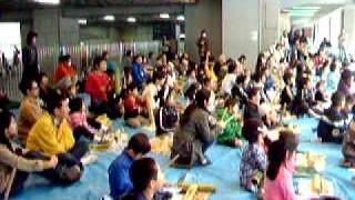 ミュージック&リズムス TOKYO KIDS 2009 ワークショップ2回目