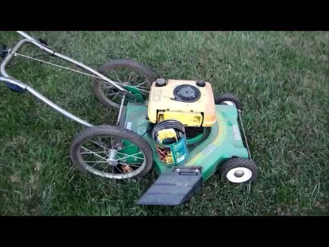 Free Rally Lawn Mower Starts Without A Carburetor 22 Quot 5