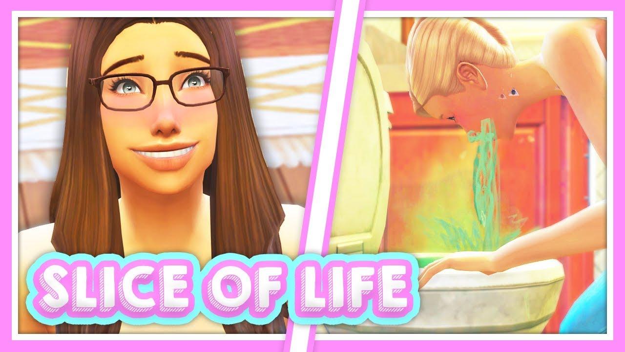 SLICE OF LIFE MOD😱 // GET DRUNK GET ACNE LOSE TEETH BLUSH