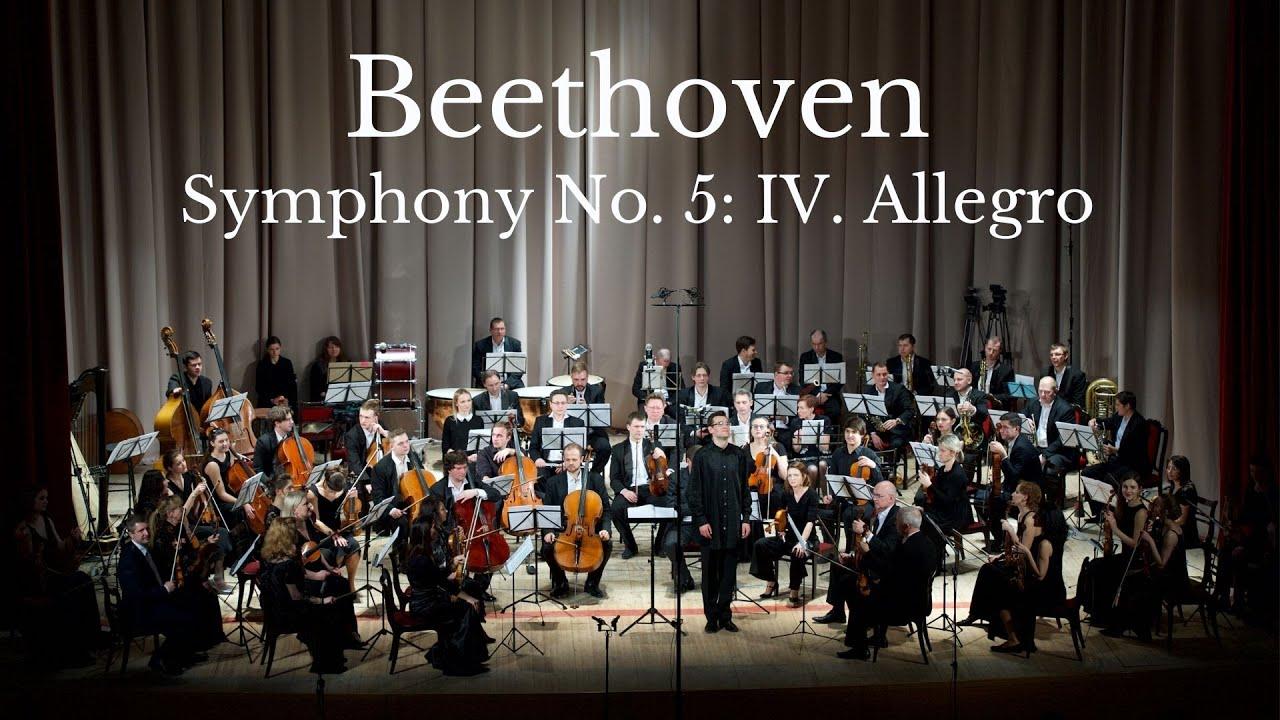 Beethoven: Symphony No  5, Op  67: IV  Allegro (Metamorphose String  Orchestra)