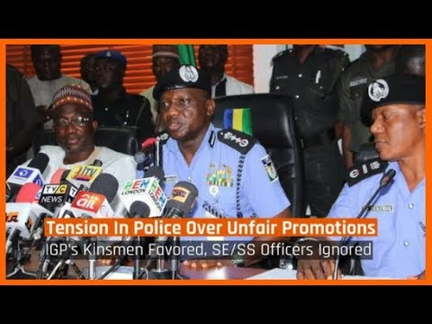 Nigeria News Today: Tension In Nigeria Police Force Over Lopsided Promotions (14/03/2018)